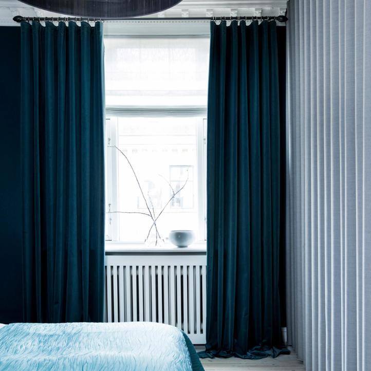 Oppdatert Velour gardiner i et væld af farver→Se alle vores velour stoffer! UF-77